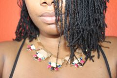 Jewellery, Necklace, Hairstyle, Black Hair Royalty Free Stock Photography