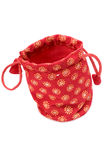 Jewellery pouch Royalty Free Stock Photography