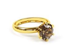 Jewellery ring. Stock Photo