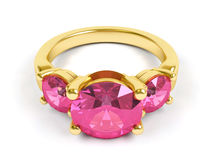 Jewellery ring. Stock Photos