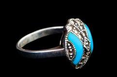 Jewellery ring isolated Stock Photos