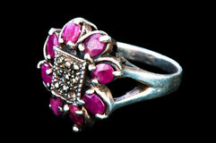 Jewellery ring isolated Royalty Free Stock Photo