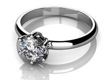 Jewellery ring Royalty Free Stock Images