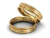 Jewellery ring Stock Photography