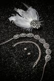Jewellery sety Zdjęcia Royalty Free