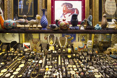 Jewellery shop royalty free stock photography