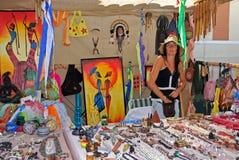 Jewellery stall, Barbate. Stock Photos