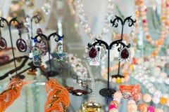 Jewellery store in beautiful Stock Image