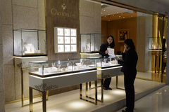 Jewellery store interior Royalty Free Stock Photography
