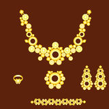 Jewellry set Royalty Free Stock Image