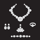 Jewellry set Royalty Free Stock Photography