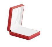 jewelr的空的配件箱 图库摄影