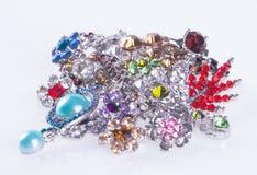 jewelry ювелирные изделия на предпосылке Стоковое Изображение