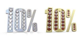 Jewelry 10% Stock Photos