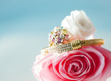 Jewelry Arrangement Royalty Free Stock Images