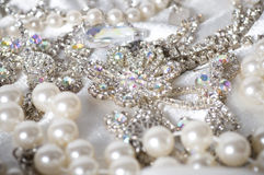 Jewelry on background Stock Photo
