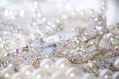 Jewelry on background Royalty Free Stock Photo