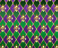 Jewelry background Mardi Gras Stock Photography