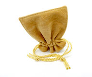 Jewelry bag isolated Stock Photography
