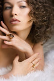Jewelry and Beauty Stock Images