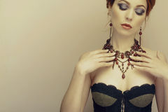 Jewelry and Beauty Royalty Free Stock Photo