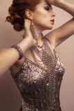 Jewelry and Beauty Royalty Free Stock Images