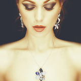 Jewelry and Beauty Royalty Free Stock Image