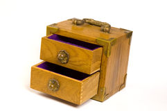 Jewelry box Stock Image