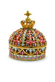 Jewelry Box. As a caron on a white background Royalty Free Stock Photos