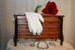 Jewelry box stock photography