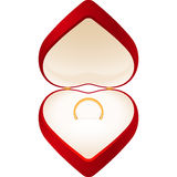 Jewelry Box Heart Royalty Free Stock Photography