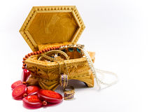 Jewelry Box from Russia 1 Royalty Free Stock Image