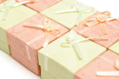 Jewelry Boxes Royalty Free Stock Image