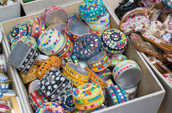 Jewelry boxes Royalty Free Stock Images