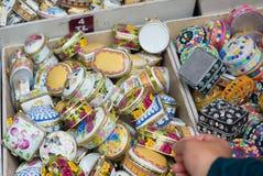 Jewelry boxes Stock Image