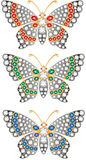 Jewelry butterflies Stock Images