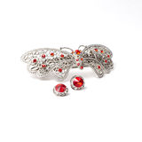 Jewelry butterfly Stock Photos