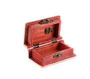 Jewelry case with decoration. Royalty Free Stock Photography