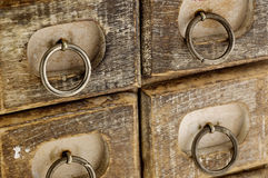 Jewelry case drawers Royalty Free Stock Photo