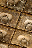 Jewelry case drawers Stock Photos