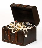 Jewelry chest Royalty Free Stock Photo