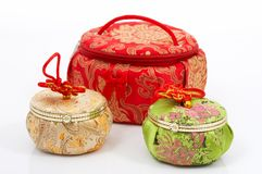 Jewelry container Royalty Free Stock Photography