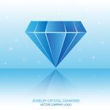 Jewelry crystal diamond Stock Photos