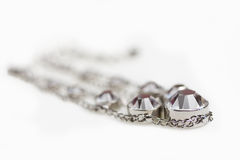 Jewelry with crystals Royalty Free Stock Photography