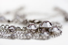 Jewelry with crystals Stock Photography
