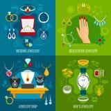 Jewelry Design Concept vector illustration