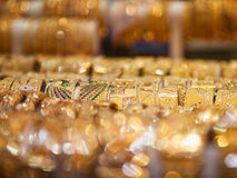 Jewelry at Dubai's Gold Souq Stock Photography
