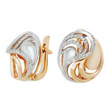 Jewelry earring Stock Images