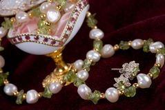 Jewelry egg Royalty Free Stock Photography