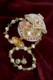 Jewelry egg Stock Photography